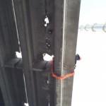 Монтаж мостового элемента.